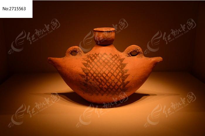 商朝陶器图片