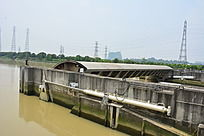 黄埔古村水闸结构