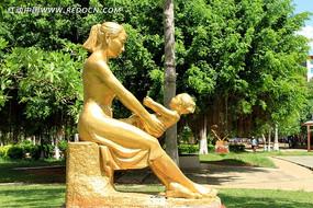 母女情深雕刻