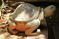 乌龟石头雕刻
