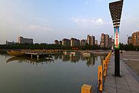 龙源湖美景