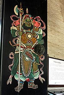 中式门窗装饰画