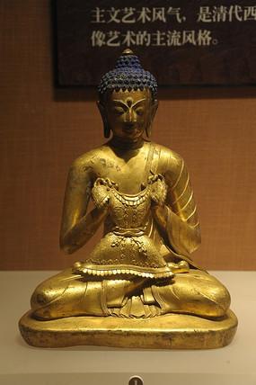 古代铜佛像