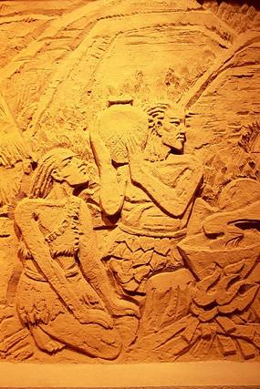 沙雕背景墙