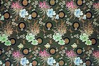 传统高贵花纹  祥云  传统花纹 高雅花纹  传统吉祥花   绸缎 丝布