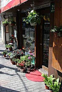 路边的花店