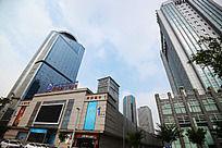 郑东新区的购物广场