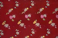 高雅花纹 传统高贵花纹 酒红色底纹