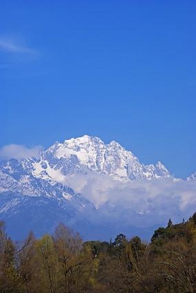 丽江玉龙雪山风景
