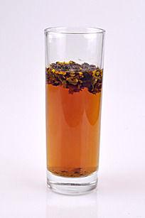 一杯野菊花茶