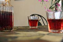 红茶菊花茶
