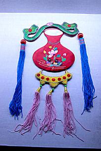 吉祥如意图案的中国香包