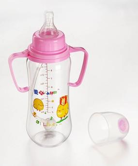 母婴用品 奶瓶 粉色