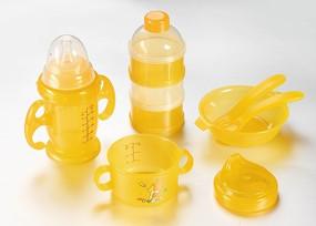 母婴用品 套装 黄色