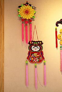 中国吉祥图案饰品香包挂件