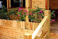 木围栏装饰