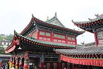 与汉文化结合的藏式建筑