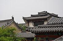 十笏园园林景观之古建筑屋顶