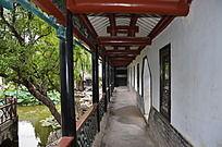 十笏园园林景观之走廊