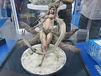 动画人物雕塑