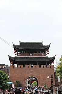 凤凰城  西门城楼