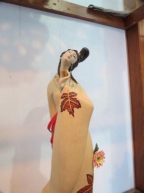 陶瓷古代美女