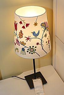 可爱图案的灯罩