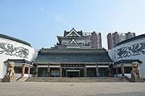 潍坊博物馆入口大门