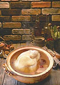 竹笙香菇炖鸡汤
