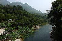 新乡八里沟的美丽河流
