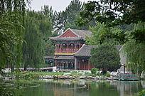 大观园水边亭子