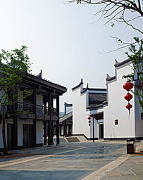 江南小镇风格建筑群