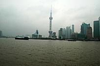 浦东黄浦江风景