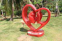 相爱一生雕刻