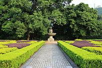 桂林园林植物园欧式园林道路