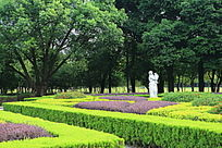 桂林园林植物园欧式园林雕像