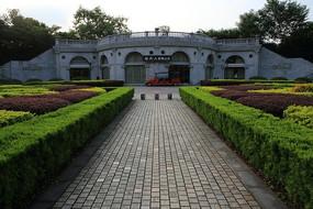 桂林园林植物园欧式园林建筑
