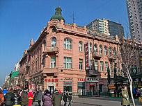 哈尔滨中央大街建筑景观