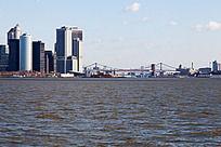 海边城市纽约港