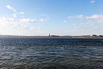 曼哈顿大海风景