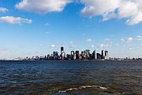 曼哈顿海边城市