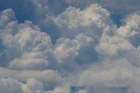 棉花糖一般的美丽云彩