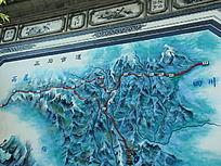 茶马古道地图
