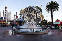 好莱坞  地球标识
