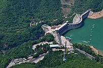 云台山子房湖拦河坝