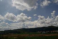 楚雄县天空上的云层