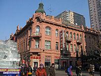 哈尔滨中央大街建筑