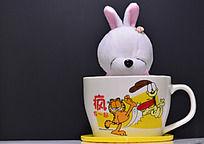 流氓兔和加菲猫杯子