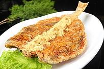 蒜香鱼 烤鱼