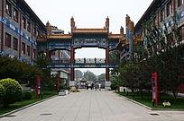 北京国粹苑长廊